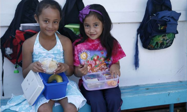 Feeding over 30,000 hungry children every week at school